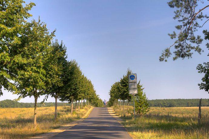 Feldweg Richtung Ahlimbsmühle (Foto: templiner.de)