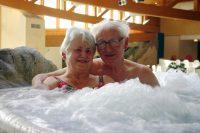 Badelanschaft Whirlpool