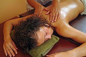 4-händige Öl-Massage