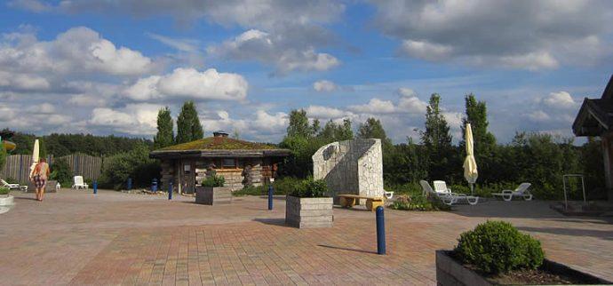 Saunagarten der NaturThermeTemplin