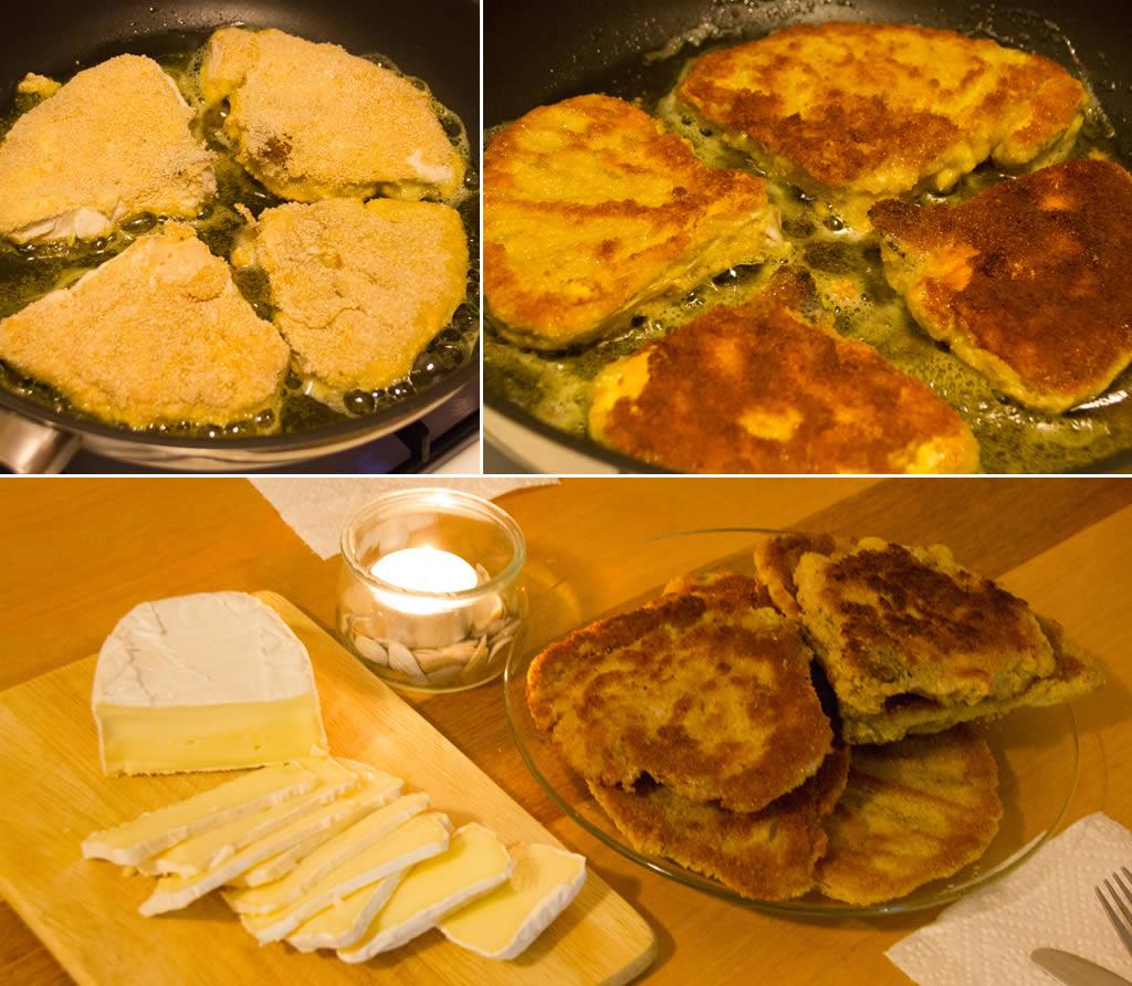 Zubereitung panierte Schirmpilze (Foto: templiner.de)