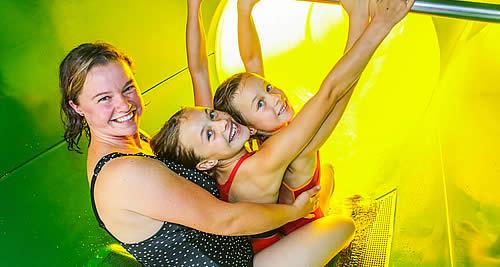 Rutschen-Spass mit Familienclub